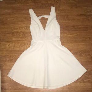 Marilyn Monroe style white dress